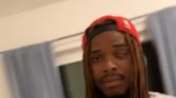 Home Grown Radio - Fetty Wap Swats A Girl's Phone Out Of Her Hands