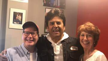 Photos - PHOTOS: Erik Estrada On The Chris & Rosie Show