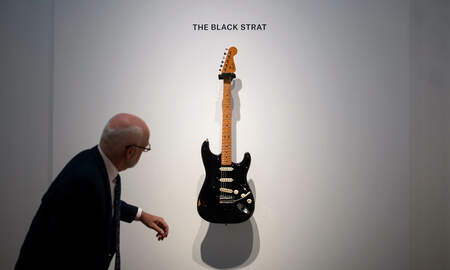 Rock News - David Gilmour's Black Strat Sets Record With $4 Million Price