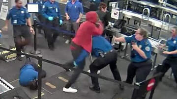 National News - Five TSA Agents Injured After Man Tried To Run Past Security Checkpoint