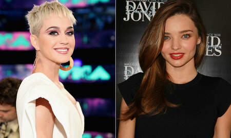 Entertainment News - Katy Perry Poses For Photo With Orlando Bloom's Ex-Wife Miranda Kerr