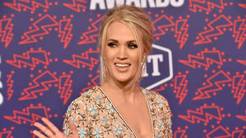 Entertainment News - Carrie Underwood Was Gifted a Cheese Sculpture of Herself: See the Photo