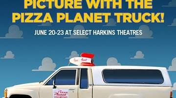 #iHeartPhoenix - You Can Take A Picture With The Pizza Planet Truck At Harkins Theatres