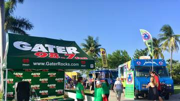 Photos - The Gater Rocking Out At The Ultimate Food Truck Event In Boynton Beach