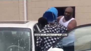 Home Grown Radio - Man Caught Someone Sleeping In His Car & Throws A Bucket Of Water On Him