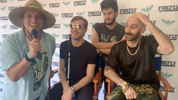 Kyle McMahon Blog - Firefly 2019: Interview with X-Ambassadors
