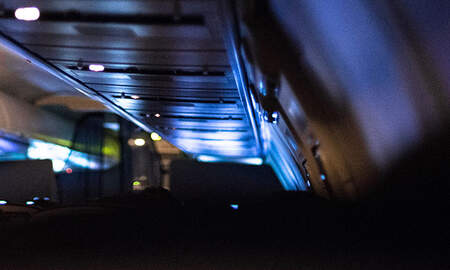 National News - Terrified Airline Passenger Woke Up Alone On Dark, Empty Plane