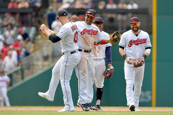 Indians Pounce on the Tigers 8-3 to Complete Series Sweep