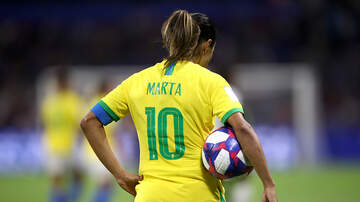 World Cup - Marta Gives Message For Brazil's Next Generation