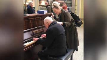 Leigh Ann and Jeremy - Woman Sings Over The Rainbow To Elderly Man