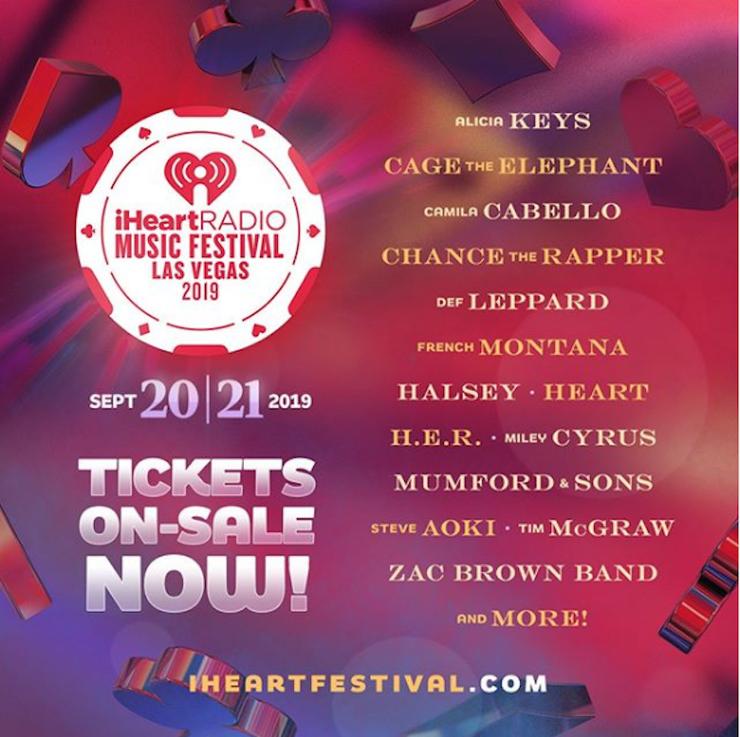 Resultado de imagen de iheartradio music festival 2019
