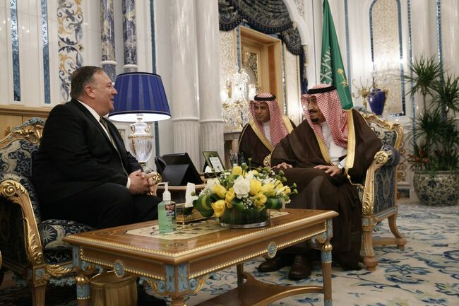 SAUDI-US-IRAN-UNREST-POMPEO