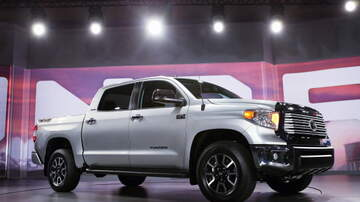 Lee Callahan - Toyota Gives Hero a Brand New Burnt Up' Tundra