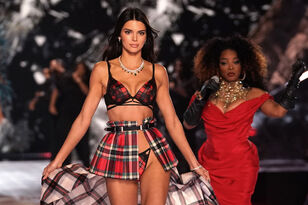 Kendall Jenner Gets Dragged for Runway Walk