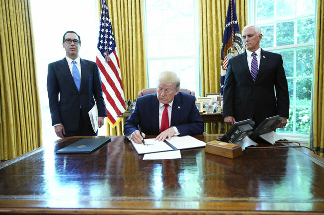 US-POLITICS-TRUMP-IRAN-SANCTION