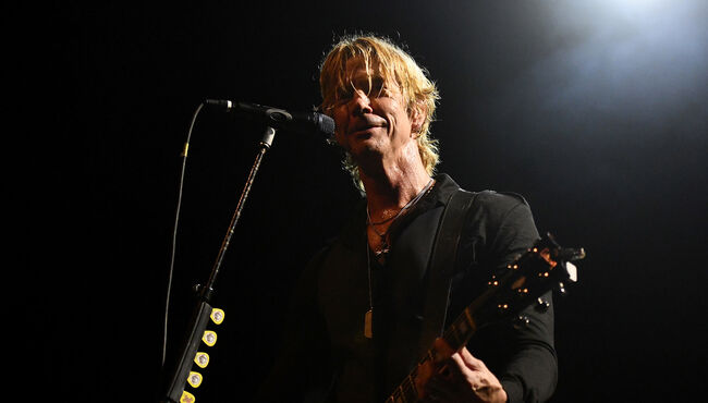 Duff McKagan And Shooter Jennings Perform At El Rey Theatre