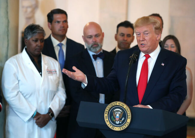 President Trump Signs Executive Order On Improving Healthcare Price And Quality
