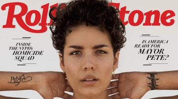 Tanner and Drew - Singer Halsey Rocks Hairy Armpits On Rolling Stone Cover