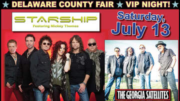 Boston Mike - Starship & Georgia Satellites at the Deleware County Fair July 13th!