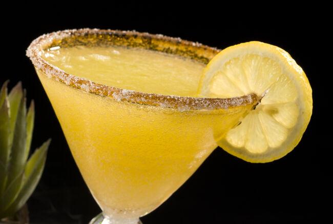 Pineapple and Lemon Margarita