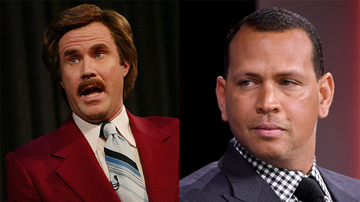 iHeartRadio Podcasts - Ron Burgundy Would Never Give A-Rod Advice