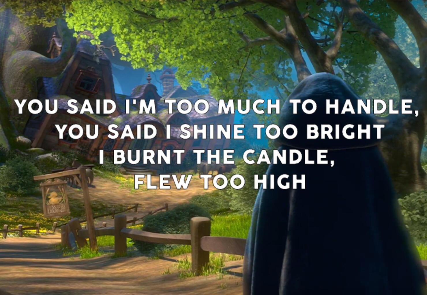 Halsey or Disney Lyrics?