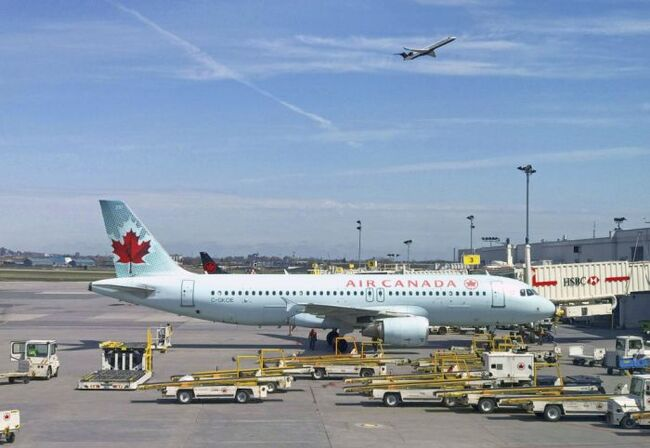Air Canada passenger stranded