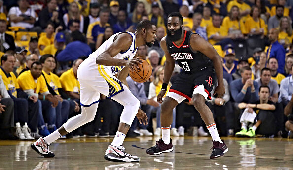 Daryl Morey says a Kevin Durant-less Warriors team will open up the Western Conference next season.