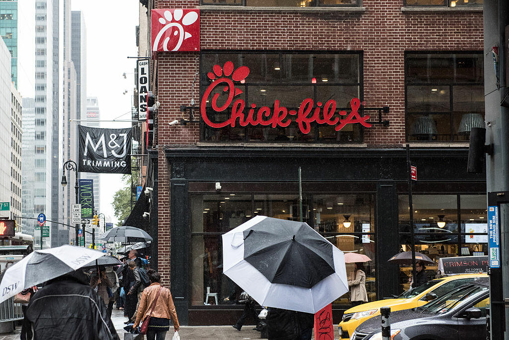 Chick-Fil-A Named America's Favorite Restaurant Chain Once Again