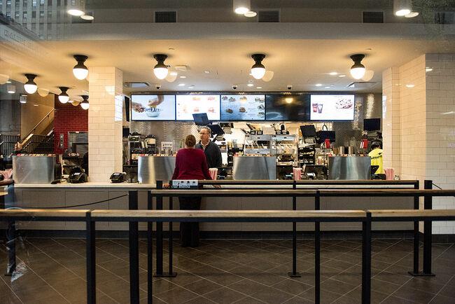 Fast-Food Chicken Restaurant Chick-Fil-A Opens First Store In Manhattan