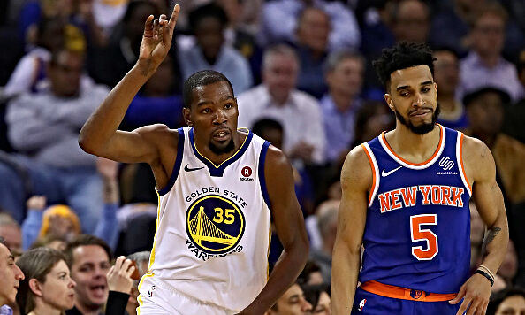 Kevin Durant is reportedly finished with the Warriors.
