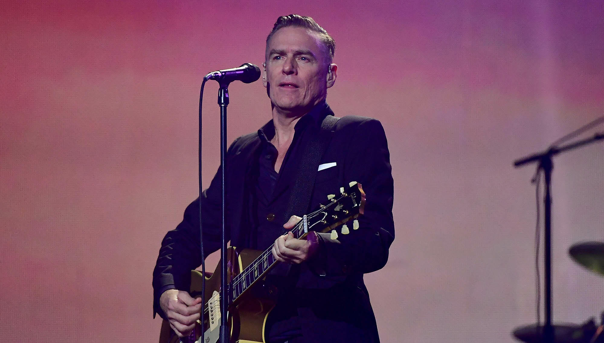 Bryan Adams Says Masters From His 'Reckless' Album Burned In UMG Fire