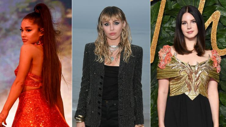 Ariana Grande Teases Miley Cyrus, Lana Del Rey Collab: Watch The Teaser | iHeartRadio