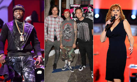 Trending - Blink-182, 50 Cent, Reba McEntire Among Artists Affected By UMG Fire
