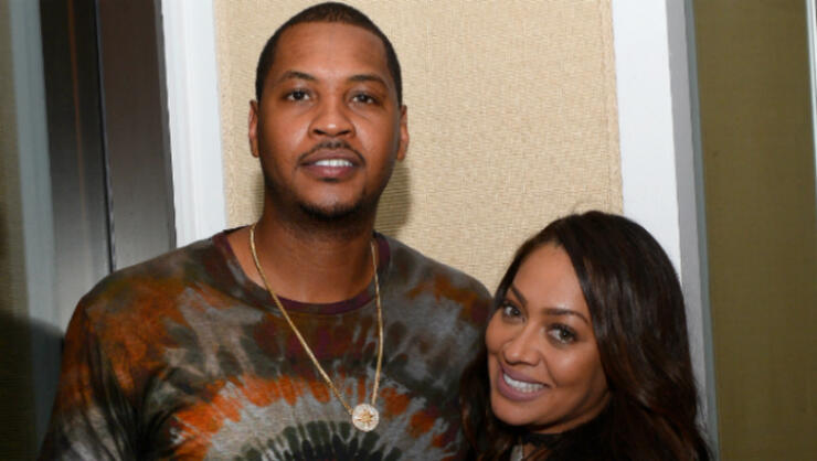 Carmelo Anthony Speaks Out After Reports Claim He's Cheating On La La | iHeartRadio