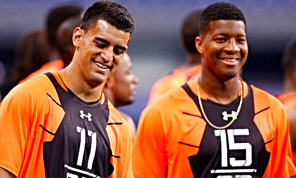 Jameis Winston and Marcus Mariota both started Week 1 as rookies.