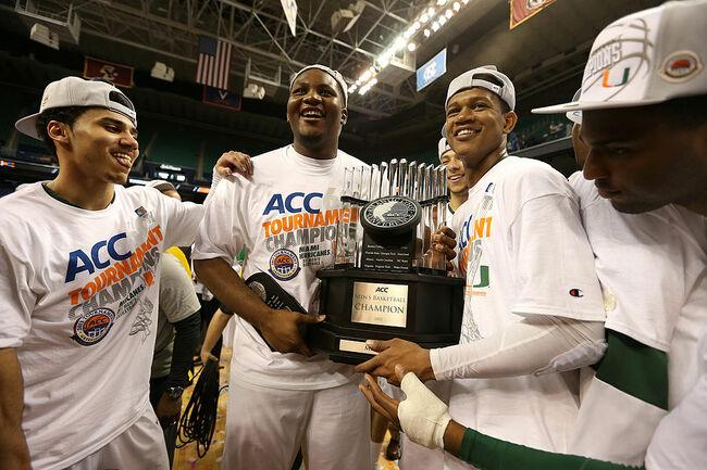 Getty - ACC Basketball Tournament - North Carolina v Miami