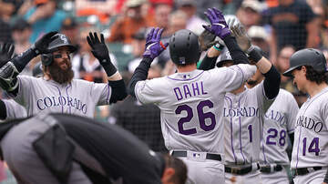 Mike Rice - Dahl's Slam Lifts Rockies Past Giants, 6-3