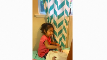 JB - ***VIDEO*** Adorable Little Girl Gets An Adorable Little Puppy