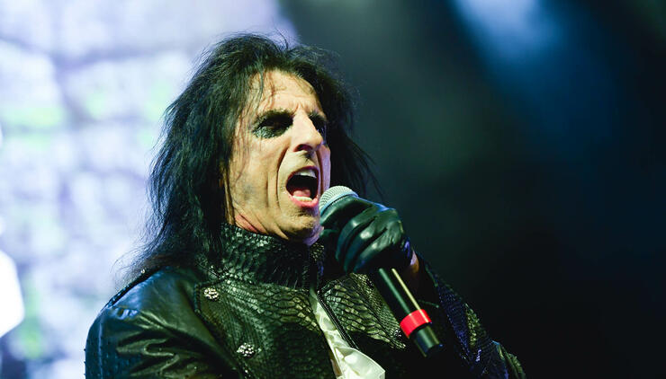 Alice Cooper Gets Animated With Donald Duck, Goofy For Disney Channel Show | iHeartRadio