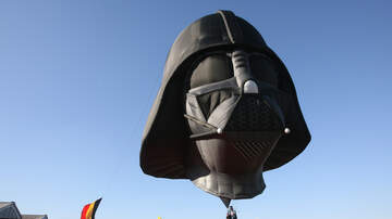 Laura Anderson - Darth Vader's Head Seen Floating Over England