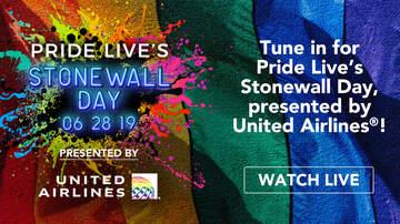 Z100 News - Watch Pride Live's Stonewall Day Celebration Streaming Live