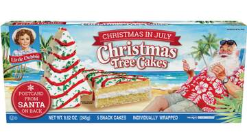 Josh Reno - Walmart selling Little Debbie's Xmas Tree Cakes for Christmas in July