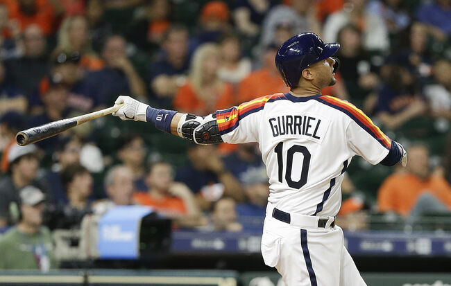 Gurriel Hits Extra Innings Walk Off Homer to Lift Astros Over Mariners