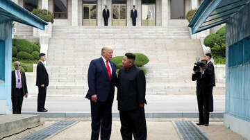 Politics - Trump Meets with North Korea's Kim Jong Un in North Korea