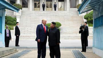 Politics - Trump Meets with North Korea's Kim Jong Un in North Korea