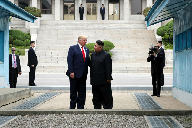 U.S. President Donald Trump Visits South Korea