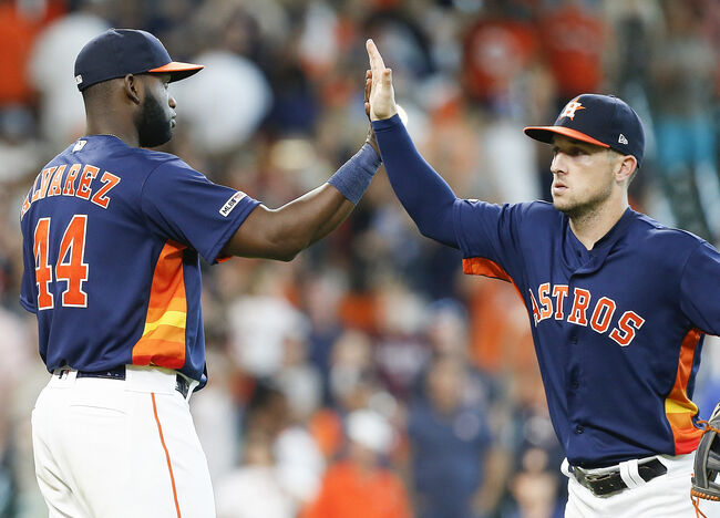Alvarez and Cole Lead Astros to 6-1 Win Over Mariners to Complete Sweep