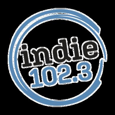 Indie 102.3 logo