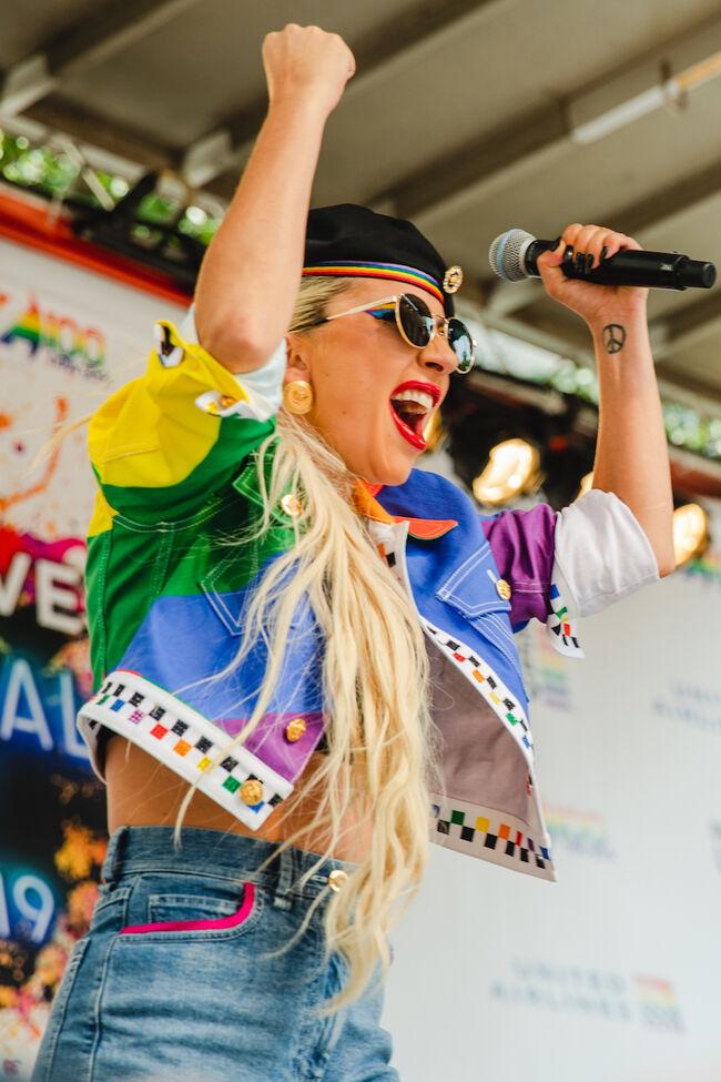 Katherine Tyler for iHeartRadio - PRIDE 2019